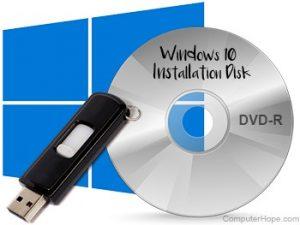 so laden Sie Windows auf USB oder CD